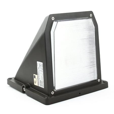 Aura Michelia 50/70 9800215 Full Cutoff LED Wall Mount Light Fixture, Wall Pack, Exterior Lighting, 11W, Bronze
