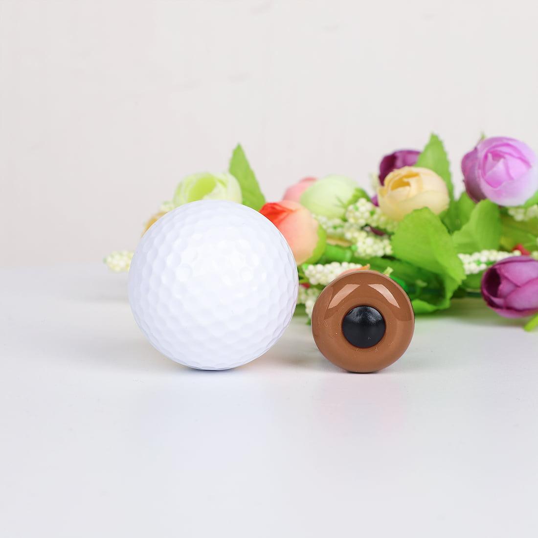 Ceramic Knob Pull Handle Furniture Dresser Wardrobe Cabinet Accessory 8pcs Brown - image 2 de 8