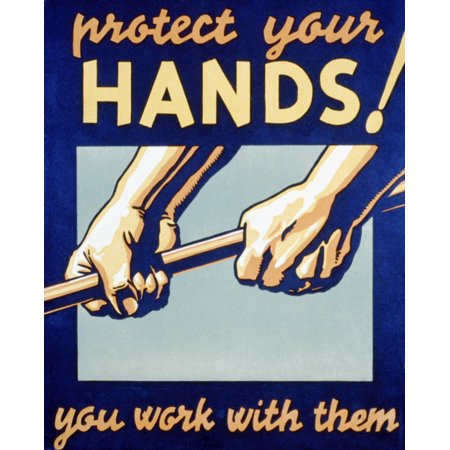 Workplace Safety FAP Poster 1936 Poster Print by Science Source