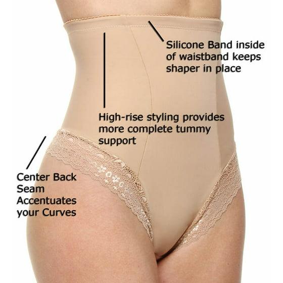 6c5c0054f8 DuMi - DuMi shapewear Firm Control Hi-Waist Thong Panty 682 (Taupe ...