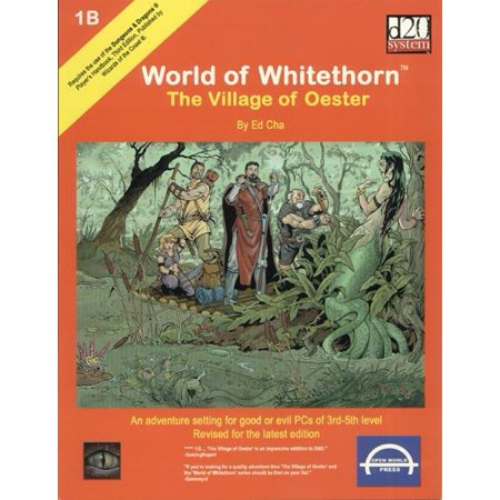 World of Whitethorn - The Village of Oester Lightly Used