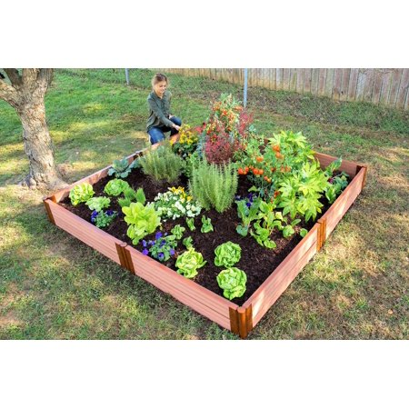 Frame It All Classic Sienna Raised Garden Bed 8
