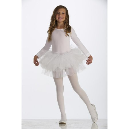 White Child Tutu Halloween Costume](Homemade Halloween Costume Ideas With Tutus)