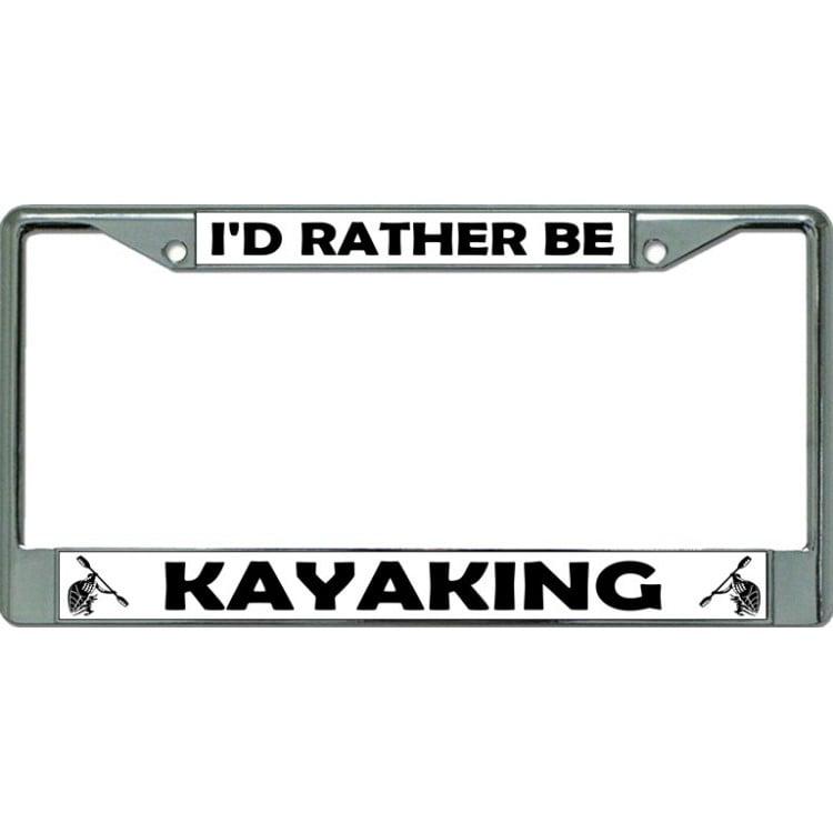 Kayak License Plate