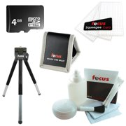 Focus 5 Piece 4GB Micro SD Camcorder Kit