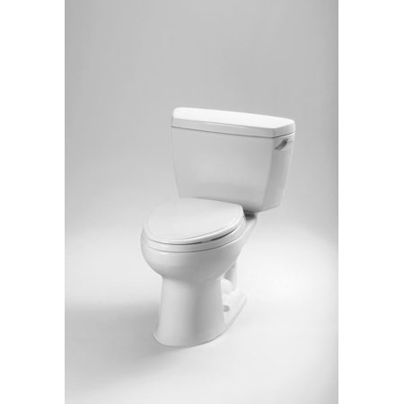 Toto Drake Elongated Two Piece Toilet CST744SR#01 Cotton White