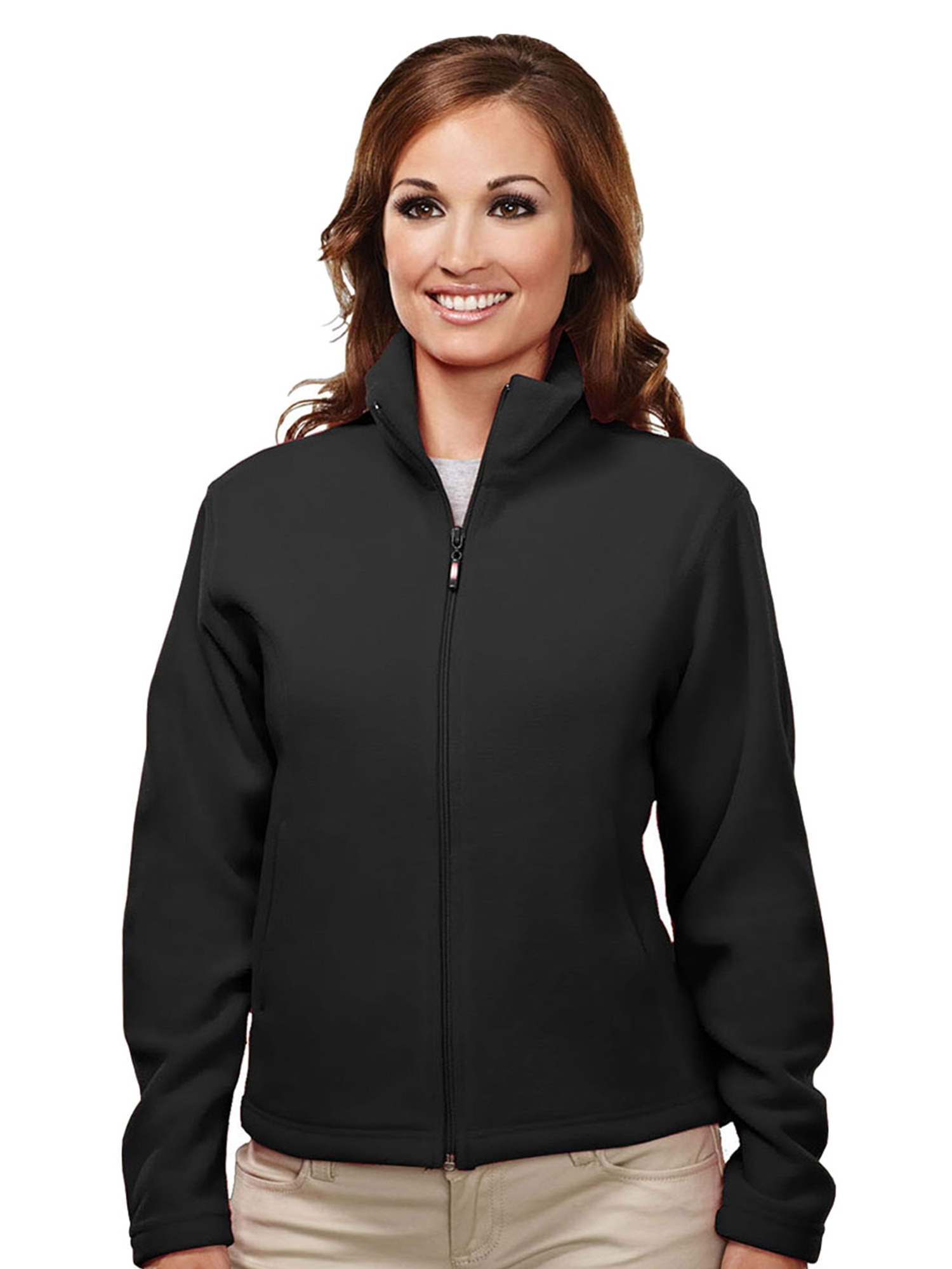 Tri-Mountain Women's Tailored Fit Perfect Fleece Jacket