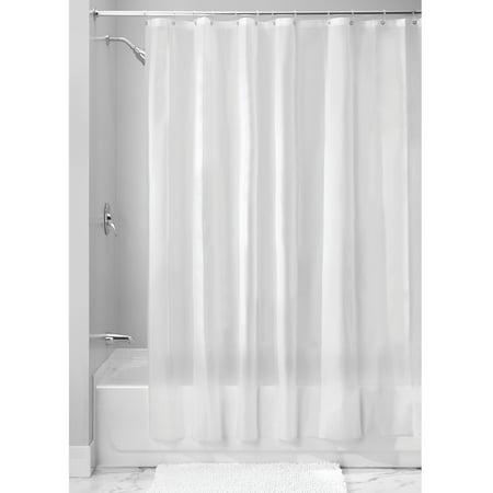 InterDesign EVA 55 Gauge Shower Curtain Liner Standard 72 X Frost