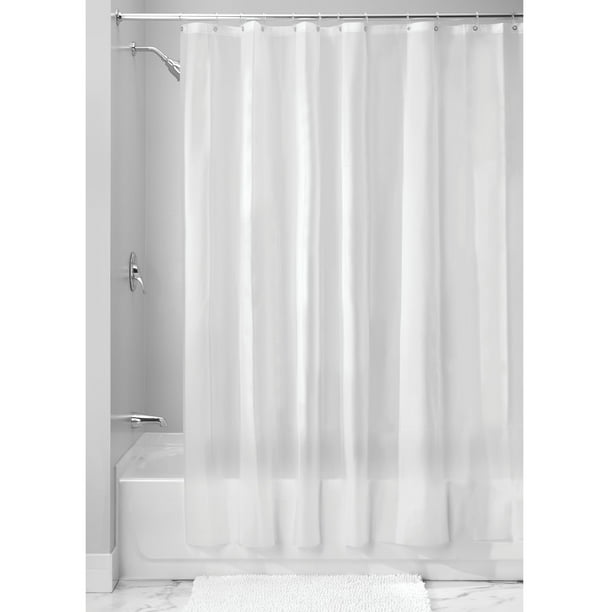 "InterDesign EVA 5.5 Gauge Shower Curtain Liner, Standard, 54"" x 78"", Frost"