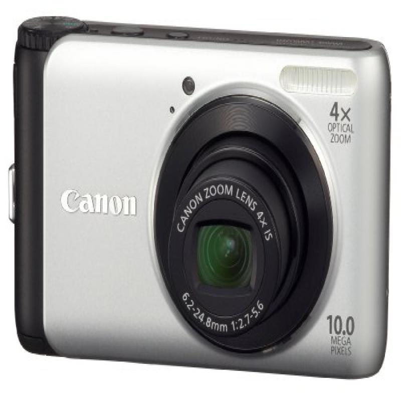 Canon PowerShot A3000 IS 10 MP Digital Camera with 4x Optical Image Stabilized Zoom and 2.7-Inch LCD