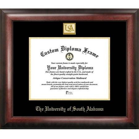 "University of South Alabama 8.5"" x 11"" Gold Embossed Diploma Frame"