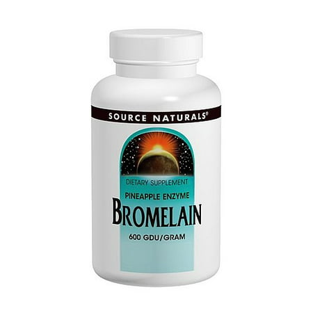 Bromelain 60 Tablets - Source Naturals Bromelain 120 Tablets