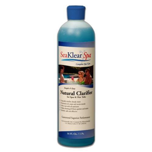 SeaKlear SKSBP Natural Clarifier Cloudy Water for Spas Pint SKS-B-P by SeaKlear