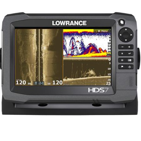Lowrance 000-11788-001 Hds-7 Gen3 Insight[tm] Fishfinder/chartplotter With 83/200khz Transducer & Lowrance Smartsteer[tm]
