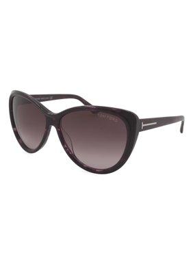b2c3c1f15529 Product Image tom ford sunglasses malin   frame  dark plum havana lens   plum gradient