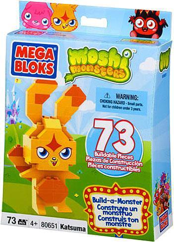Moshi Monsters Build-a-Monster Katsuma Set Mega Bloks 80651 by