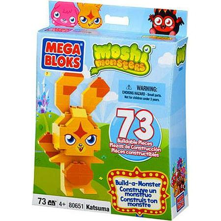 Moshi Monsters Build-a-Monster Katsuma Set Mega Bloks 80651 - Moshi Monster Halloween Bags