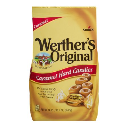 Werther's Original Hard Candies Caramel, 34.0 OZ