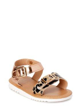 Nicole Miller New York Wild Child Leopard Ankle-Strap Sandals (Toddler Girls)