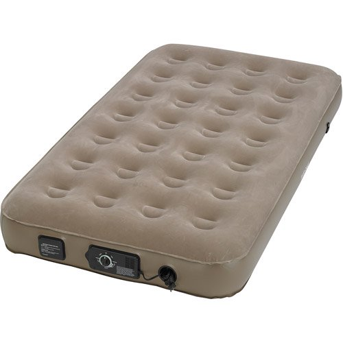 Review Insta Bed Raised Air Bed With Neverflat Ac Pump Twin