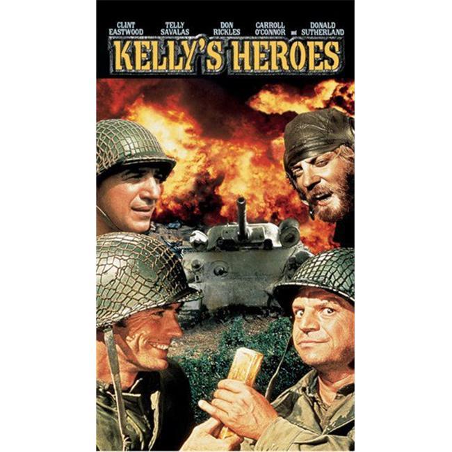 Posterazzi MOV273996 Kellys Heroes Movie Poster - 11 x 17 in. - image 1 of 1