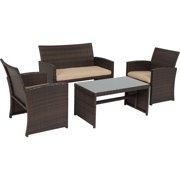 Best Choice Products Pc Wicker Outdoor Patio Furniture Set - Wicker patio furniture sets