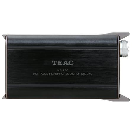 8757d44ea3f TEAC HA-P50 Portable Headphone Amplifier with USB DAC - Walmart.com