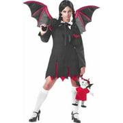 Teen Gothic Bat Girl Costume