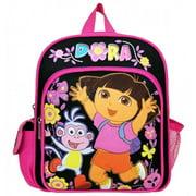 Dora the Explorer Flower Black Mini Backpack #A02776