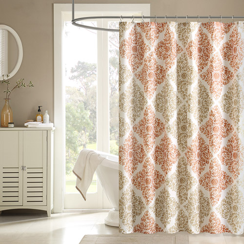 Home Essence Arbor Printed Ultra-Soft Shower Curtain