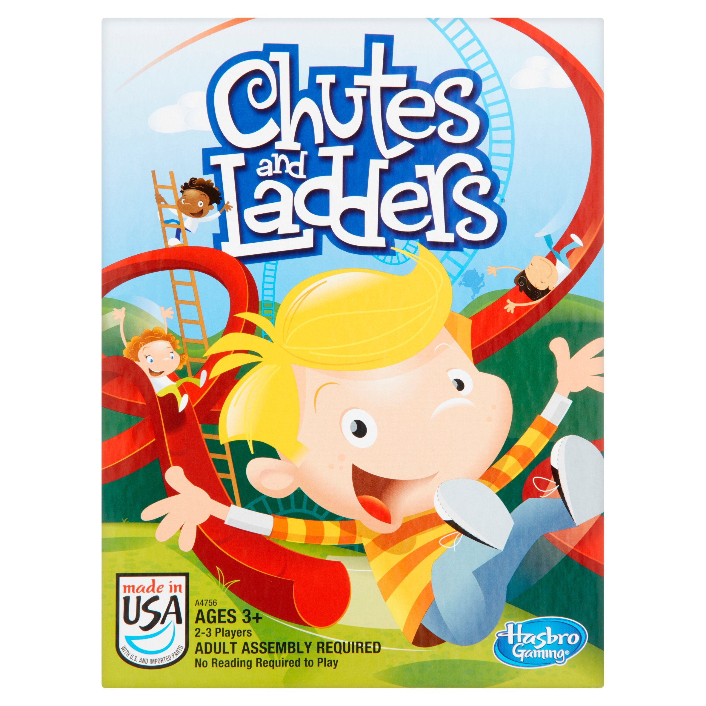Hasbro Gaming Chutes and Ladders Game Ages 3+