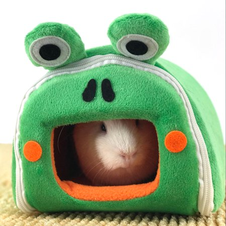 Portable Warm Pet Bed Washable Pet House for Dog Cat Guinea Pig Hamsters Rabbits