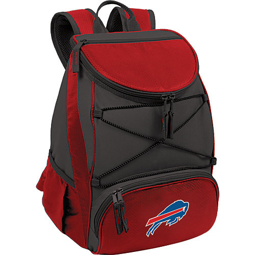 NFL Backpack Cooler by Picnic Time - PTX, Buffalo Bills - Red