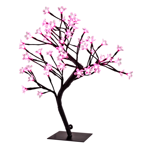 River of Goods Cherry Blossom Tree Accent Lamp