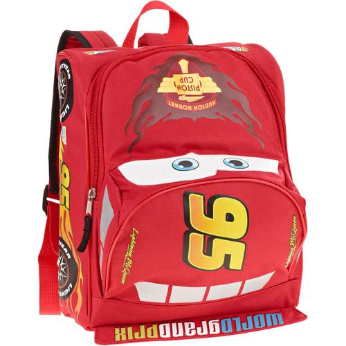 """Cars #95 Lightning McQueen  12"""" Backpack"""