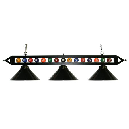 Stained Glass Billiard Light Shade - 59