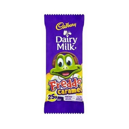 - Cadbury Dairy Milk Freddo Caramel Chocolate Bar (19.5g x 4)