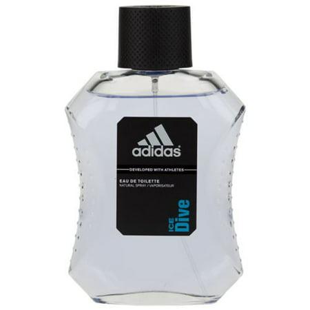 Ice Dive By Adidas  Eau De Toilette For Men  3 4 Oz