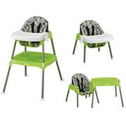 Evenflo Convertible High Chair Dottie Lime