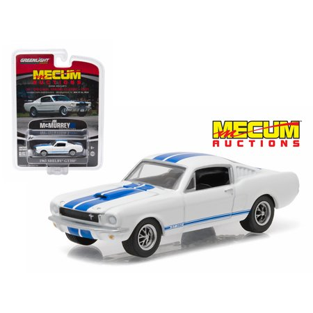 1965 Ford Mustang Specs - 1965 Ford Shelby Mustang GT350 Fastback White Mecum Exclusive Limited Edition to 1008pcs 1/64 Diecast Model Car by