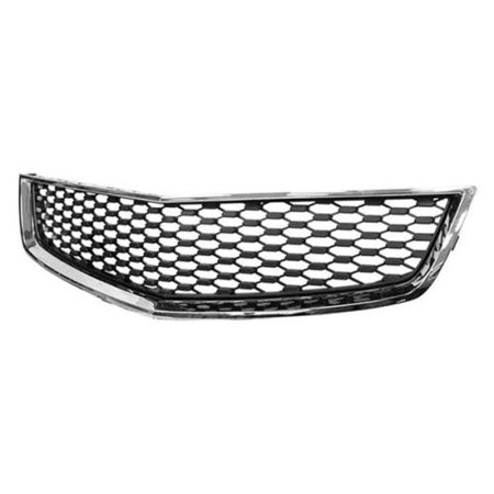 NEW FRONT LOWER GRILLE MATTE-BLACK FITS 2010-2015 CHEVROLET EQUINOX 25798747 ()