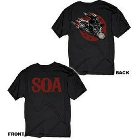 Sons of Anarchy Jax In Action Adult T-Shirt