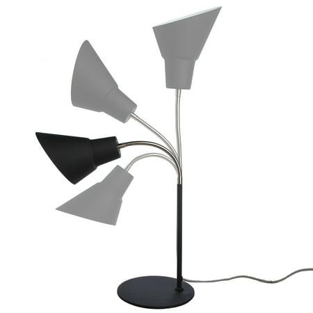 Wild & Wolf Gooseneck Lamp Retro Lighting Desk Lamp Work Light Adjustable Height Task Light For Desk Office