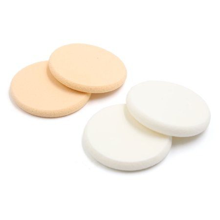 24pcs Round Sponge Cosmetic Makeup Puff Cream Concealer Foundation Cushion  Pads