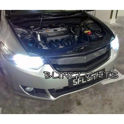 Honda Accord Euro Hid Head Lamp Replacement Light Bulbs Pair Xenon