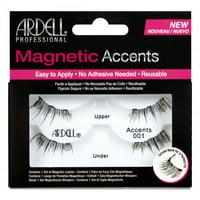 Ardell Accents Magnetic False Eyelashes, 001