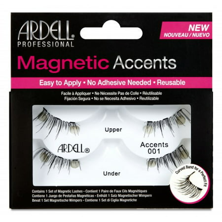 Ardell Accent 001 Magnetic Eyelashes Black - 1pr