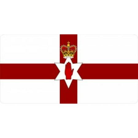 - Northern Ireland Flag Metal License Plate