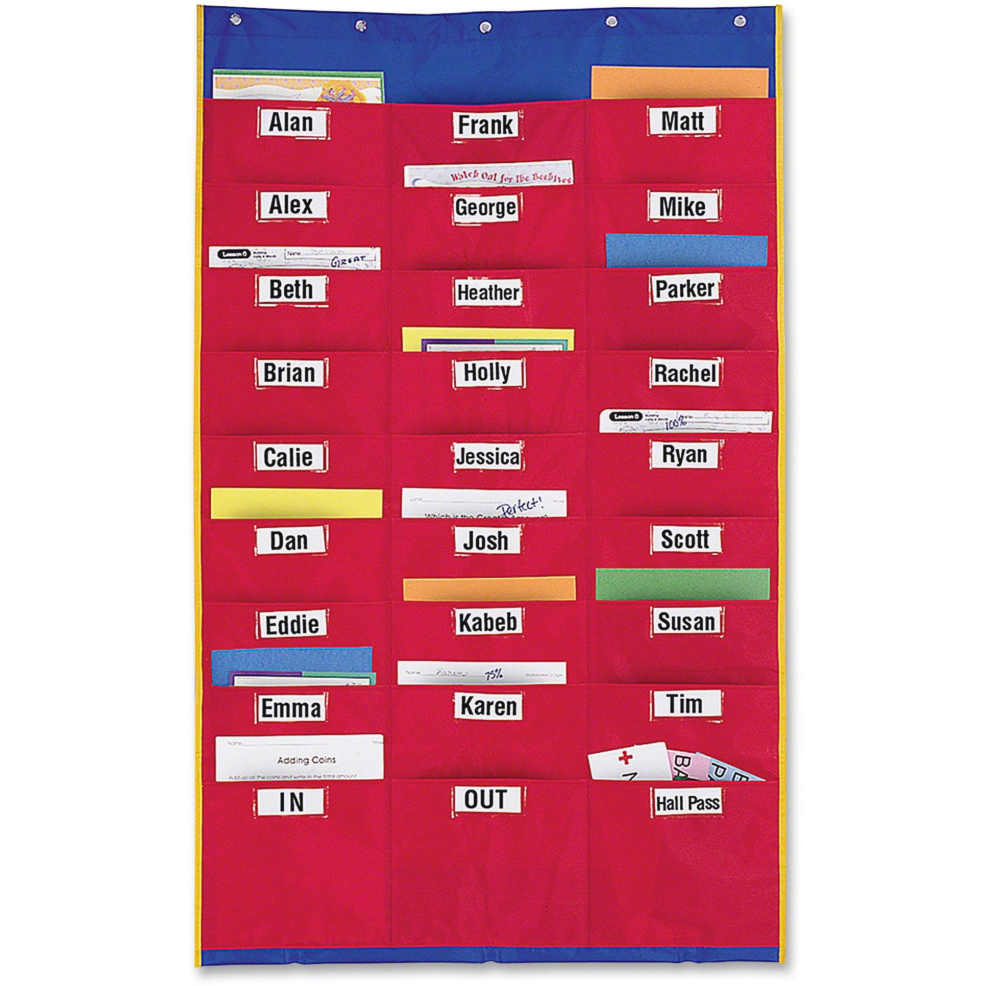 Learning Resources, LRNLER2255, Storage Pocket Organization Station, 1 Each