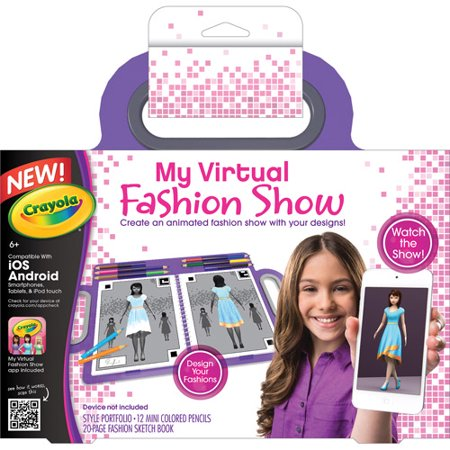 Crayola my virtual fashion show Crayola fashion design studio reviews